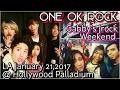 ONE OK ROCK LA Concert Hollywood Palladium January 21, 2017