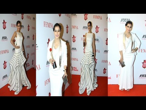 Sonam Kapoor, Kajol & Other Celebs On Red Carpet Of Femina Beauty Awards