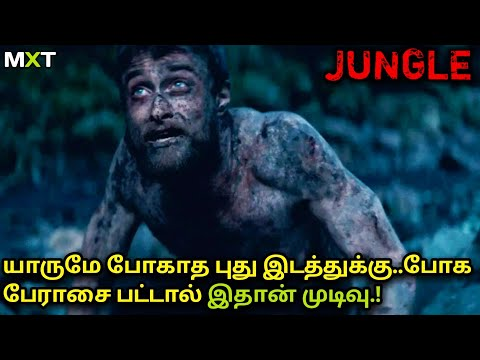 Jungle Full Movie Explained in Tamil Mxt Best Survival Thriller English to Tamil dubbed Movies 