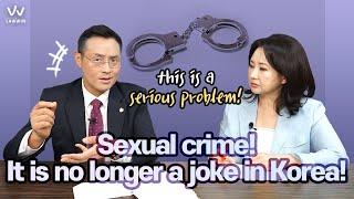 #1. Sexual crime! It is no longer a joke in Korea!