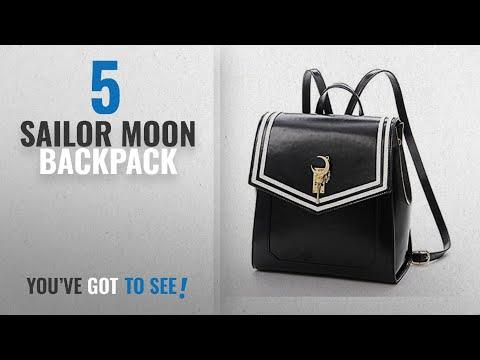 Top 10 Sailor Moon Backpack [2018]: Ehdching Anime Sailor Moon Tsukino Usagi Backpack Cosplay