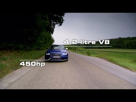 Audi RS 4 Avant Test Drive – Fifth Gear