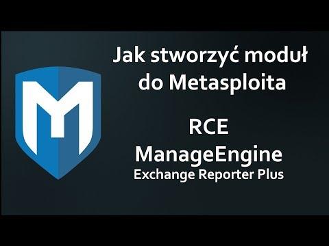 Jak stworzyć moduł do Metasploit