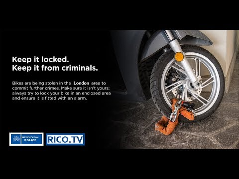 London moped theft and crime