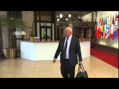 Άφιξη του Γάλλου ΥΠΟΙΚ στο Eurogroup