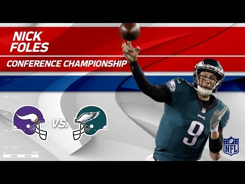 Video: Nick Foles Leads Philly to the Super Bowl! | Vikings vs. Eagles | NFC Championship Player HLs