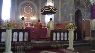 Liturgy at Nativity Cathedral of the Blessed Virgin, Ethiopia
