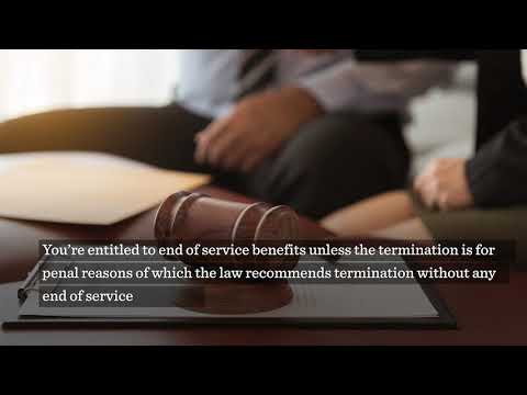 Video: Employee benefits upon contract termination in Oman