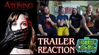 "Nonton ""The Atoning"" 2017 Horror Movie Trailer Reaction - The Horror Show Film Subtitle Indonesia Streaming Movie Download"