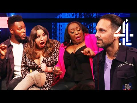 Dynamo FREAKS Out EVERYONE With Magic Trick! | The Big Narstie Show
