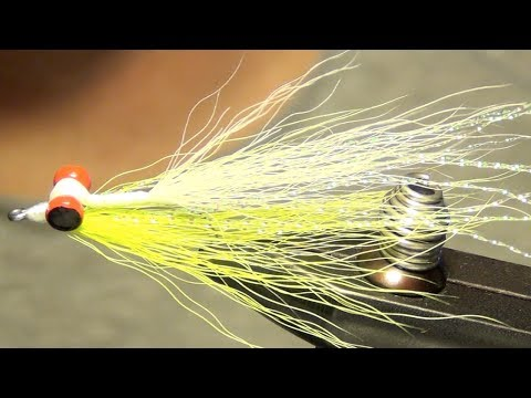 Clouser Minnow Saltwater Fly Tying Instructions Directions and How To Tie Tutorial