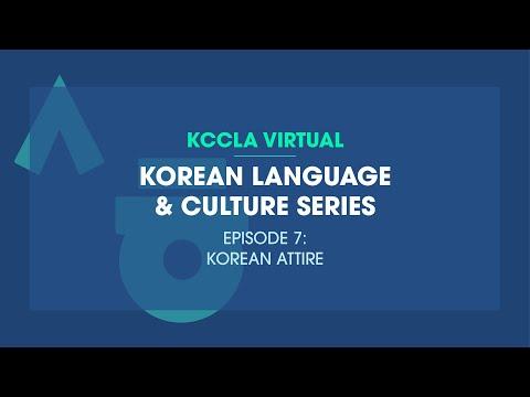 Korean Language & Culture Series(Ep.7: Korean Attire)