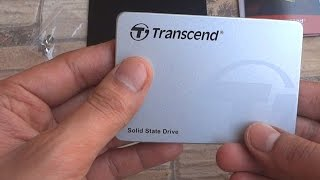 """If you are looking to upgrade from a hard disk to an SSD, please have a look at this SSD from Transcend before you buy one. Don't visit our Website: http://www.sproductions.inBuy from India: http://amzn.to/2topFbBBuy from Amazon US: http://amzn.to/1OFQxsFBenchmark & Performance results: http://goo.gl/1gh5LIIt is amazing to note the difference an SSD makes on a computer. Not only does it substantially decrease the boot up times, it also makes your computer blazingly fast at everyday tasks. I needed to install an SSD on my work laptop (Asus X550) and got hold of the Transcend SSD370S. This is a 6Gb/s SATA III SSD that is backward compatible and can be used practically on any PC, laptop or Macbook.Please let me know in the comments section if you'd like to see a review of this SSD, or if you'd like me to test certain aspects and I will gladly do it for you!Benchmark results: http://goo.gl/1gh5LISpecifications from Transcend:Capacity : 32GB, 64GB, 128GB, 256GB, 512GB, 1TBSize: 100mm x 69.85mm x 6.8mm (3.93"""" x 2.75"""" x 0.28"""")Weight: 58g (1.86oz)Storage Media: Synchronous MLC NAND Flash memoryOperating Voltage: DC 5VOperating Temperature: 0°C (32°F) to 70°C (158°F)Certificates: CE, FCC, BSMIWarranty: 3 years-~-~~-~~~-~~-~-Please watch: """"Share a hard drive with everyone on your Wi-Fi network - Network Hard Drive using Router USB"""" https://www.youtube.com/watch?v=Z8L1v-MN0jA-~-~~-~~~-~~-~-"""