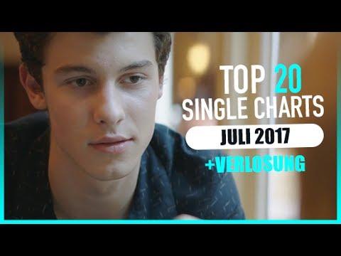 TOP 20 SINGLE CHARTS - JULI 2017 | AKTUELLE CHARTS (видео)