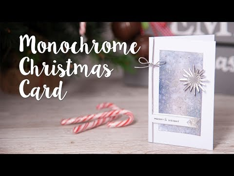 Merry & Bright Christmas Card - Sizzix