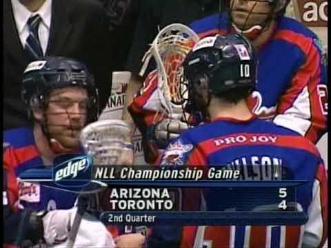 2005 Final Toronto Rock vs Arizona Sting pt 2