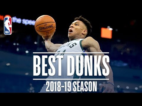 Video: Giannis Antetokounmpo's Best Dunks | 2018-2019 NBA Season | #NBADunkWeek