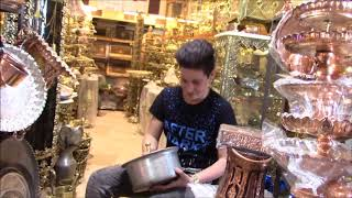 Video Kermanshah  Covered Bazaar, Historic Caravanserai Courtyards & Tekye ye Biglarbeigi, Iran MP3, 3GP, MP4, WEBM, AVI, FLV April 2019