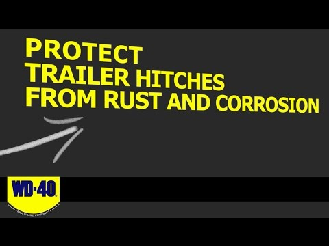 How To Protect Trailer Hitches From Rust and Corrosion with WD-40® Multi-Use Product