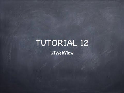 IOS Tutorial 12
