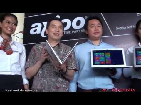 Launching Axioo Aerobook
