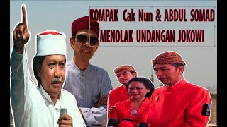 Video Cak Nun & Abdul Somad LC - KOMPAK Berani Menelolak Undangan Jokowi MP3, 3GP, MP4, WEBM, AVI, FLV April 2019
