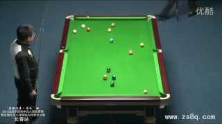 Li Hewen Vs Stephen Hendry (Chinese 8-ball)
