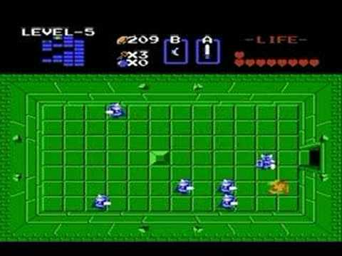 preview-The Legend Of Zelda Game Review (Nes/Wii)