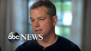 Video George Clooney, Matt Damon respond to Weinstein allegations MP3, 3GP, MP4, WEBM, AVI, FLV September 2018