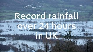 Cumbria floods: UK sees record rainfall in 24 hours after Storm Desmond