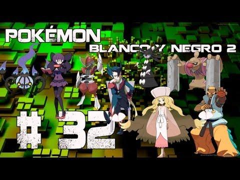 Guia/Walkthrough Pokémon Blanco y Negro 2 | Alto Mando vs. Anís, Aza, Catleya & Lotto| #32