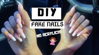 Video HOW TO: DIY FAKE NAILS AT HOME THAT LAST (NO ACRYLIC) MP3, 3GP, MP4, WEBM, AVI, FLV Agustus 2019