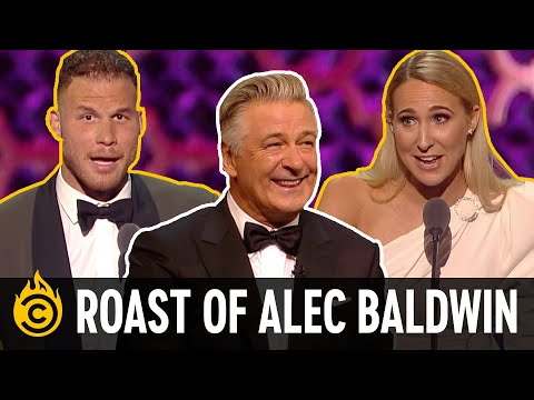 Alec Baldwin roast: The insults that got cut : Video 2019 :     Chortle : The UK Comedy Guide
