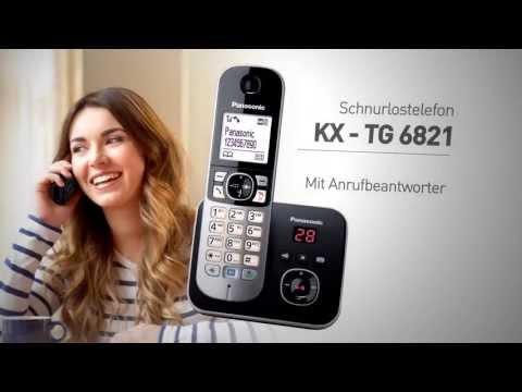 Panasonic Schnurlostelefon KX-TG6821 - Produktvorstellung