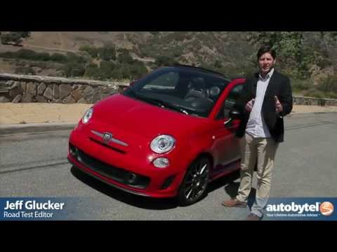 2013 Fiat 500 Abarth Cabriolet Video Review