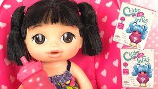 Video Poupée Baby Alive Boit son Biberon Bébé Cuillerées Sucrées MP3, 3GP, MP4, WEBM, AVI, FLV Agustus 2018
