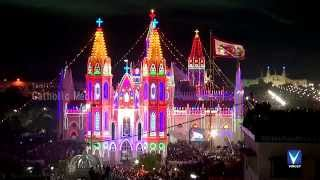 Vailankanni India  city images : Vailankanni Festival 2014 -HD Video- Flag Hoisting | Part 2