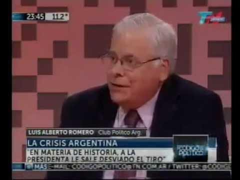 Luis Alberto Romero en Código Político – 06/06/2013