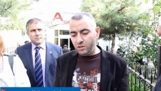 CHP Zeytinburnuİlçe Başkanı ve Örgütü İhmal Sonucu Yaralanan Ahmet Acet'i Ziyaret Etti