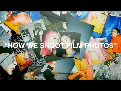 HOW WE SHOOT FILM PHOTOS: Photo-walk + Vlog | ToThe9s