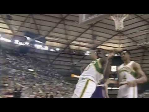 shawn kemp - In honor of NBA League Pass celebrating it's 20th anniversary, check out Shawn Kemp and Gary Payton, as they overcome 27 point performances from both Stockton and Malone, to lead the Sonics...