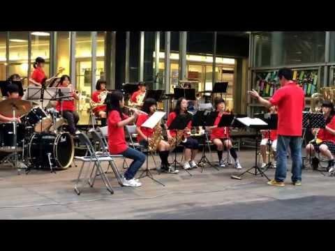【吹奏楽】嵐 マイガール&GReeeeN オレンジ《南浦和中学校 吹奏楽部》