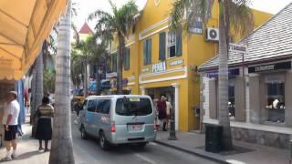 Downtown Philipsburg, Sint Maarten.