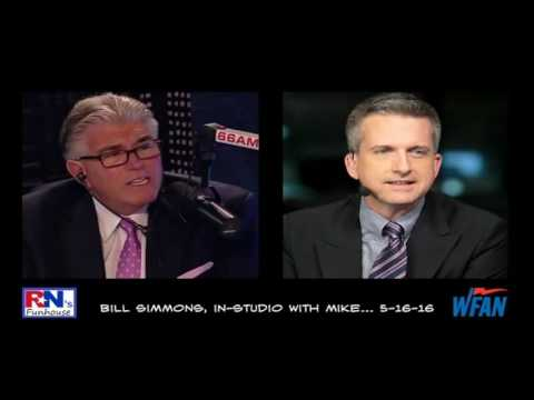 Bill Simmons learns how important Mike Francesa is -- for 5½ hours