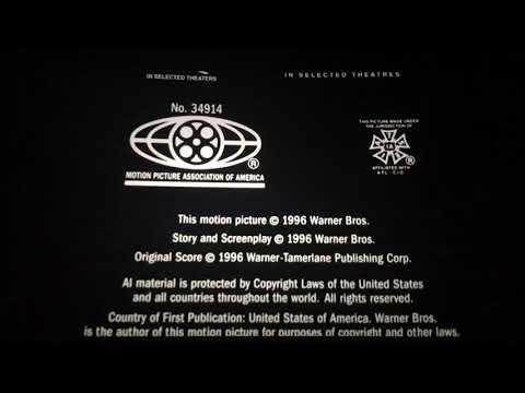 Digital Cinema Endings: Space Jam (1996)