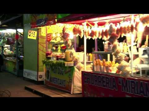 Ambiente familiar en la Feria de Jocotenango