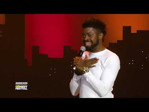 Basketmouth (Nigeria) - Chanel Bag - Johannesburg International Comedy Festival 2017
