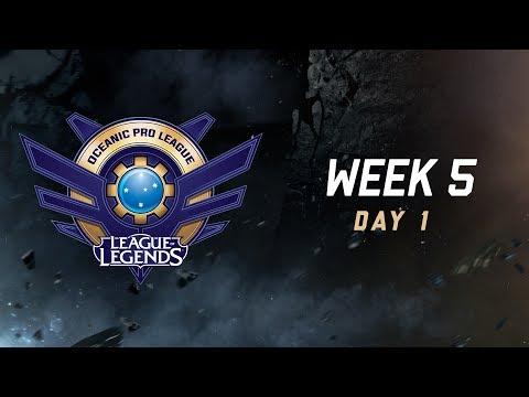 OPL Split 2 2017 - Week 5 Day 1: SIN vs. DW | CHF vs. LGC