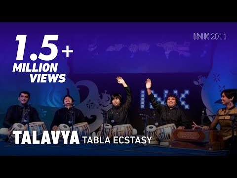 Tabla - http://inktalks.com Talavya, a tabla ensemble founded by Pt. Divyang Vakil, translates classical tabla into a contemporary artform that everyone, across ages...