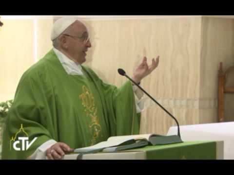 """""""viviamo nella verità della parola di dio"""" - messaggio di papa bergoglio"""